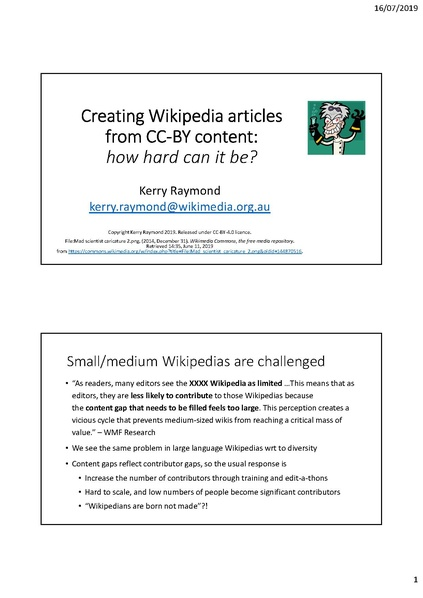 File:Creating Wikipedia articles from CC-BY content.pdf
