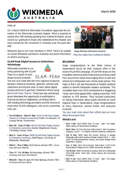 File:WMAU March 2018 newsletter pdf - Wikimedia Australia