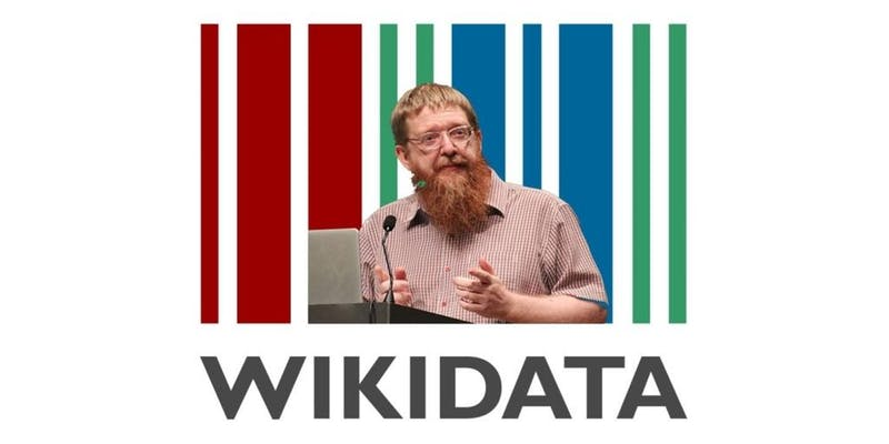 Andy Mabbett on Wikidata logo.jpg